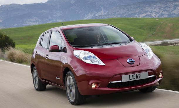 Nissan Leaf Facelift 2013 Fahrbericht Elektroantrieb Kleinwagen