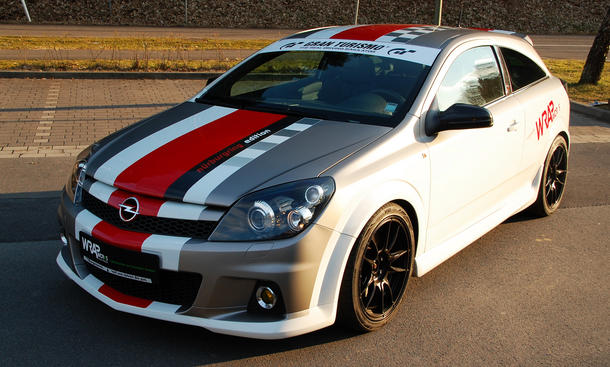 Opel Astra H OPC Nürburgring Edition Tuning Folierung Wrapworks