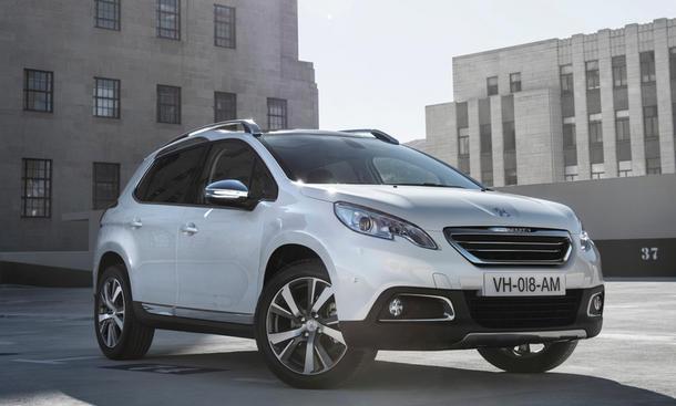 Peugeot 2008 Crossover Preis Ausstattung Markteinführung