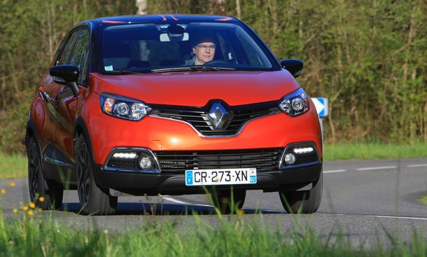 Renault Captur 2013 Crossover Fahrbericht Kompakt-SUV Benziner