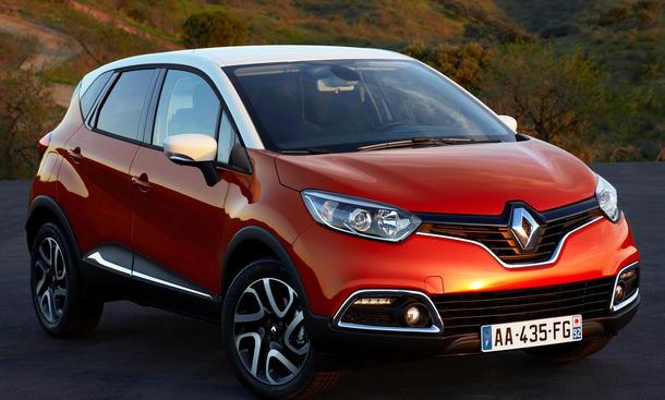 Renault Captur Preis Kompakt-SUV Clio Motoren