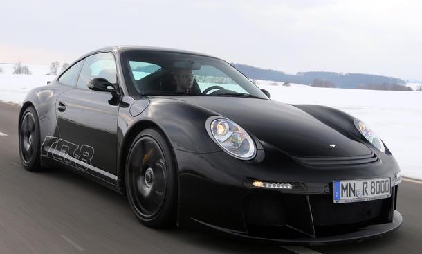 Ruf RGT-8 Hochdrehzahl-V8 Porsche 911 Fahrbericht Bilder