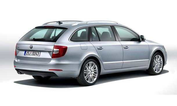 Skoda Superb Facelift Kombi Limousine Mittelklasse Shanghai Auto Show 2013