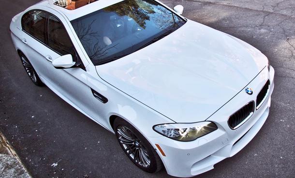 BMW M5 F10 Switzer Performance Tuning Leistungssteigerung Abgasanlage