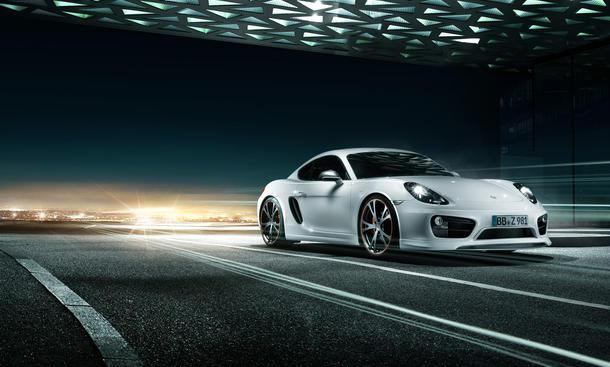 Porsche Cayman 2013 Tuning Techart Veredelung Sport-Coupé