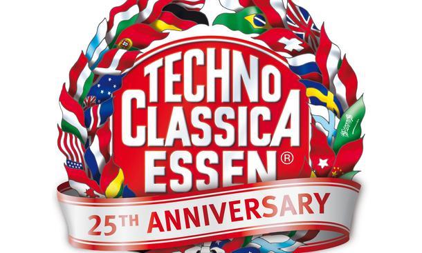 Techno Classica 2013 Oldtimer-Messe Essen Jubiläum