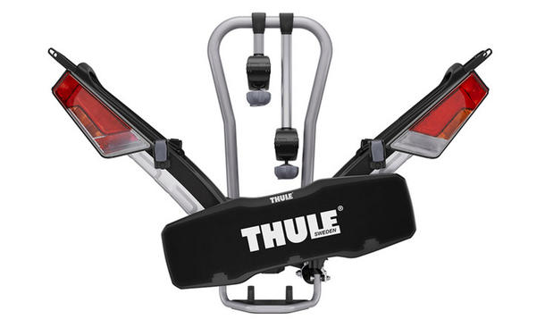faltbarer fahrradtr ger thule easy fold f r die anh ngerkupplung. Black Bedroom Furniture Sets. Home Design Ideas
