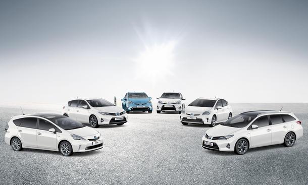 Toyota Hybrid Verkaufszahlen 2013 Wirtschaft Statistik Neuzulassungen 5-Millionen-Grenze