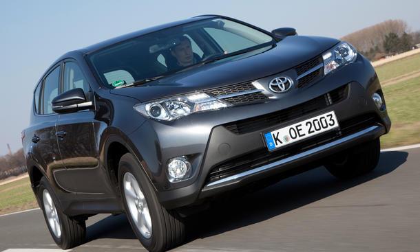 Toyota RAV4 2013 2.0 D 4D Bilder und technische Daten Test