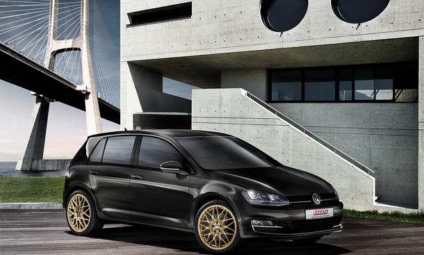 BBS Tuning-Felge RX-R Edition Racing-Gold VW Audi Mercedes