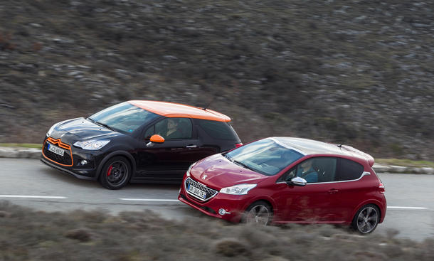 Citroën DS3 Racing / Peugeot 208 GTi