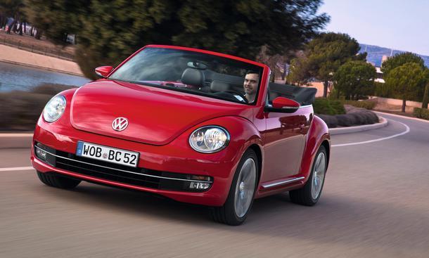 VW Beetle Cabriolet Sport 2.0 TSI Einzeltest Bilder Daten