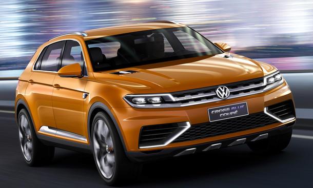 VW CrossBlue Coupe 2013 Shanghai Motor Show Passat-SUV 2016 MQB