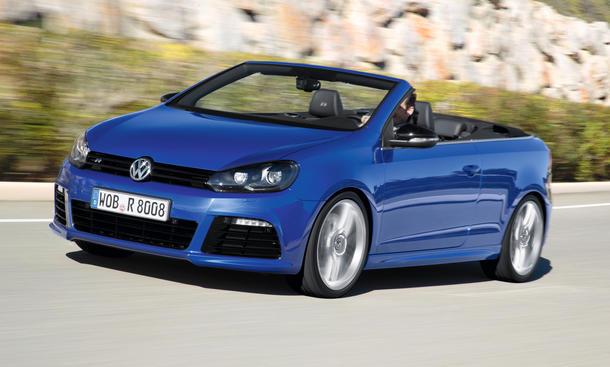VW Golf R Cabrio 2013 Bilder technische Daten Überholprestige