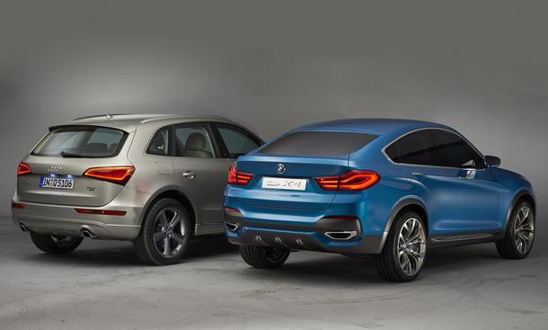 Suv Vergleich Bmw X4 Concept Trifft Auf Audi Q5 Bild 2 Autozeitung De