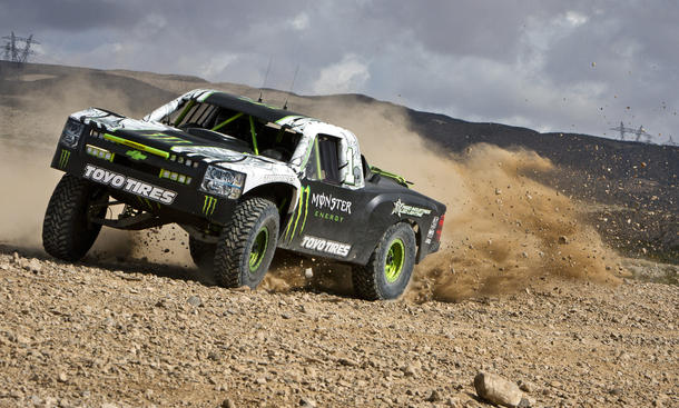 Video Monster-Energy Trophy-Truck B.J. Baldwin Nissan GT-R
