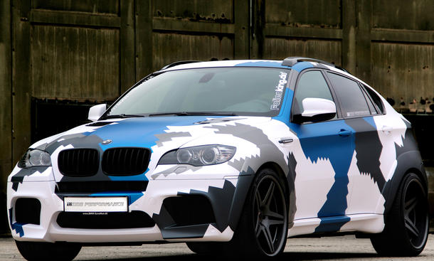 insidePerformance BMW X6 M Stealth Camo 700 PS Tuning