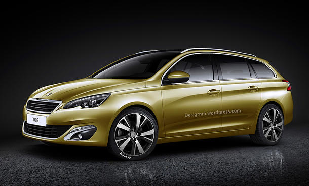 2014 Peugeot 308 SW Kombi Kompaktklasse Vorschau Kompakt-Kombi