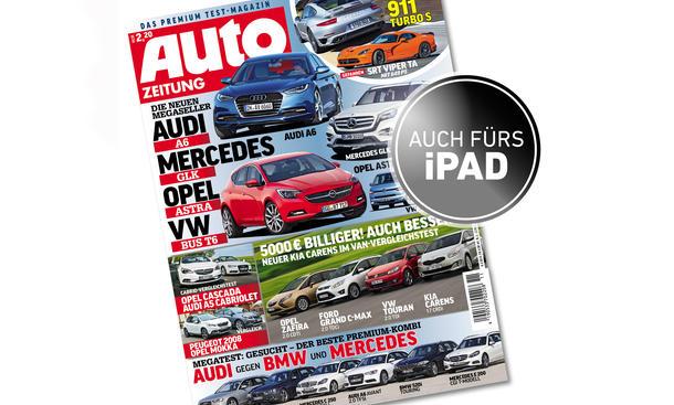 AUTO ZEITUNG 11 / 2013 VORSCHAU - Cover