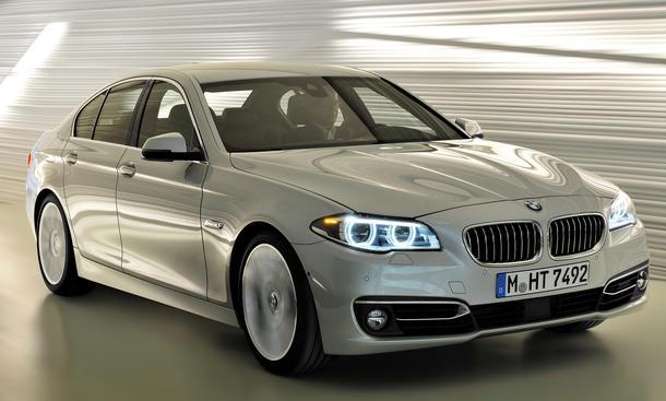 Bmw 5er Limousine M Performance Lenkrad Alcantara Mit Blende Und