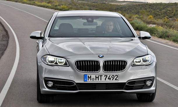 BMW 5er 2013 Preis Facelift Limousine Touring Kombi 518d