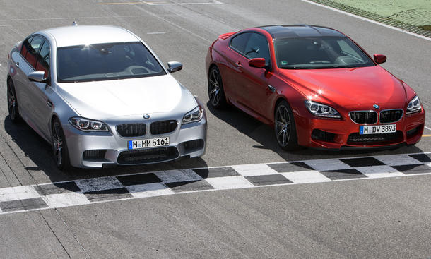 BMW M5 2013 Competition Paket M6 575 PS Facelift