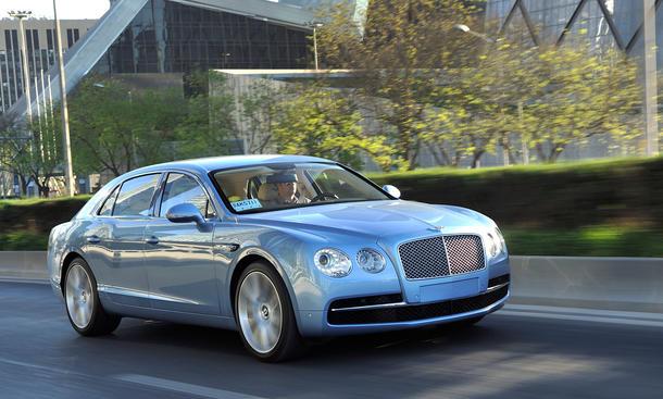 Bentley Flying Spur 2013 Luxus-Limousine W12 Preis