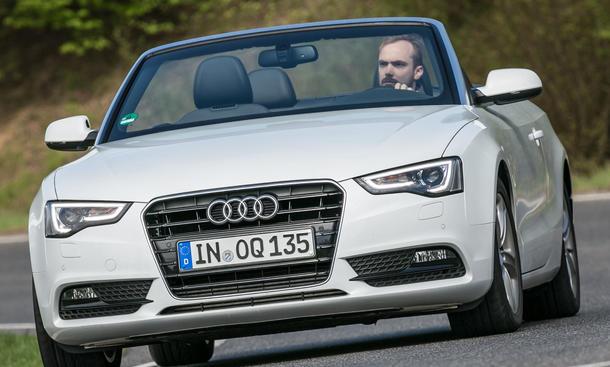Bilder Audi A5 2.0 TDI 2013 Mittelklasse Cabriolet