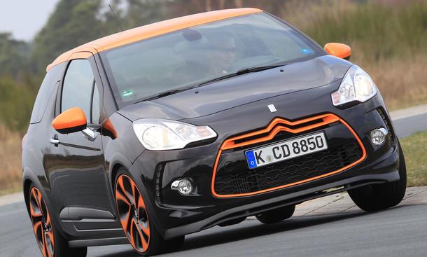Bilder Citroën DS3 Racing 2013 Test Sport Kleinwagen Leistung