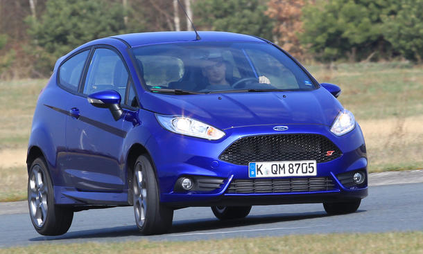 Bilder Ford Fiesta ST 2013 Test Sport Kleinwagen Preis Kosten