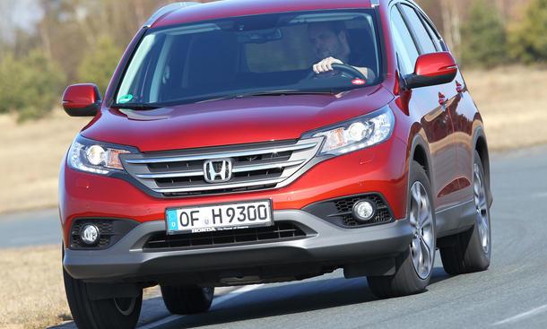 Bilder Honda CR-V 2.2 i-DTEC 4WD 2013 Kompakt-SUV Vergleich Laderaum