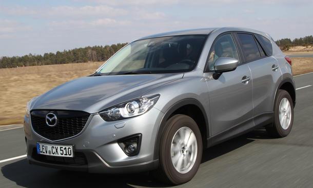 Bilder Mazda CX 5 2.2 Skyactiv D AWD 2013 Kompakt-SUV Vergleich Bremsen