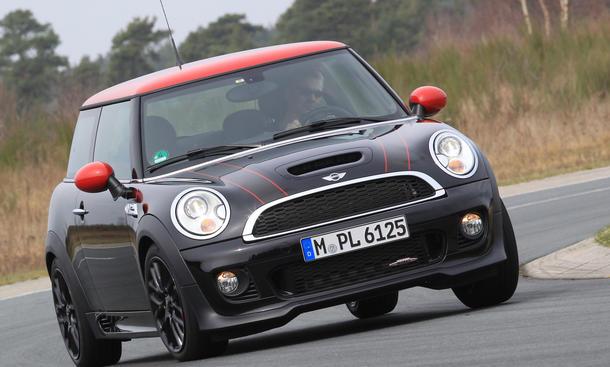 Bilder Mini John Cooper Works 2013 Test Sport Kleinwagen Leistung