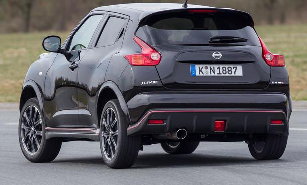 Bilder Nissan Juke Nismo 2013 Test Sport Kleinwagen Design