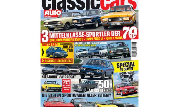 AUTO ZEITUNG Classic Cars 06/2013 Vorschau Cover
