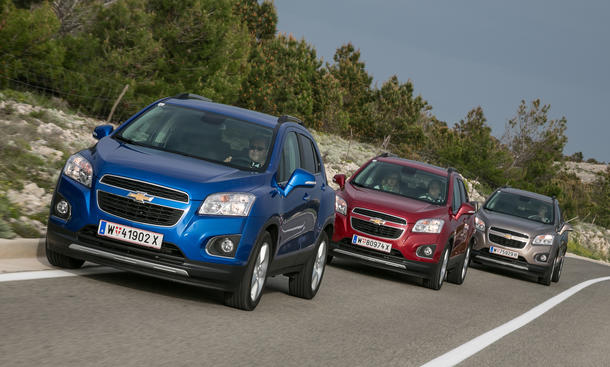 Leser-Test-Aktion: Chevrolet Trax 2013 SUV Special Kroatien