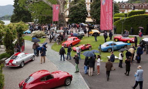 Concorso dEleganza Villa dEste 2013 Design Fest Oldtimer Treffen Bugatti 57SC Atlantic