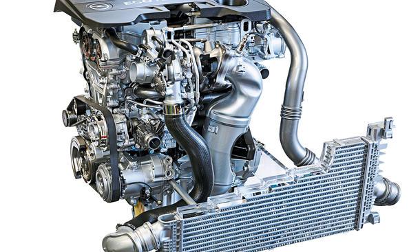 Opel Neue Motoren 2013 Downsizing 1,6-Liter-Turbo Diesel Benziner Achtstufen-Automatik