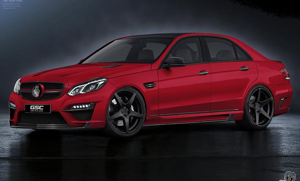 German Special Customs tunt Mercedes E-Klasse Facelift 2013