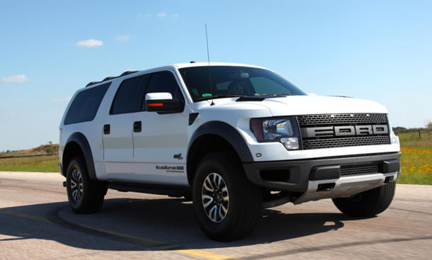 Ford F-150 2013 Pick Up Hennessey VelociRaptor SUV Umbau Tuning