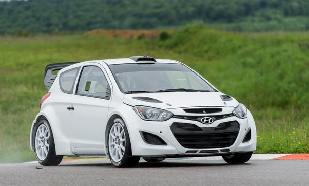 Hyundai i20 WRC 2014 Testfahrten