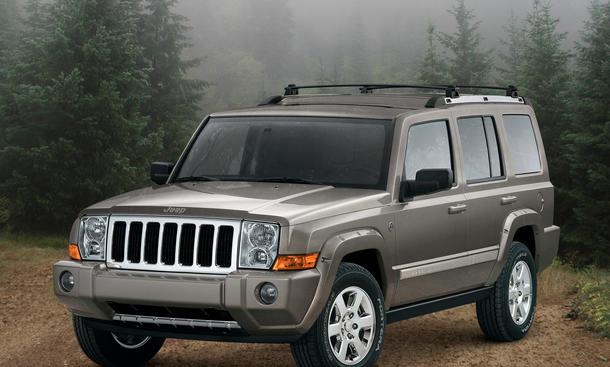 Jeep Rueckruf 2013 Probleme Werkstatt Automatik Commander Grand Cherokee