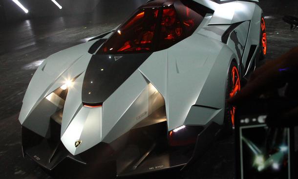Lamborghini Egoista 50° Anniversario Grande Giro Stealth Einsitzer