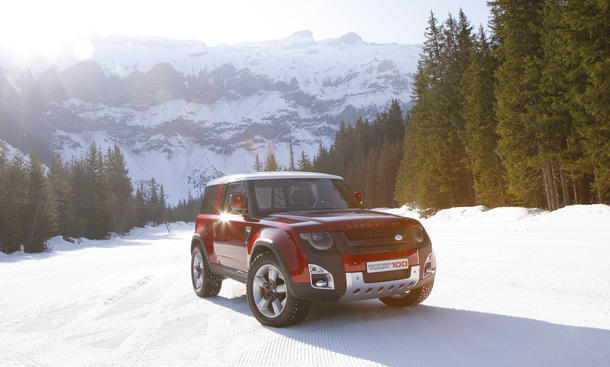 Land Rover Defender 2015 DC100 Concept Neue Generation