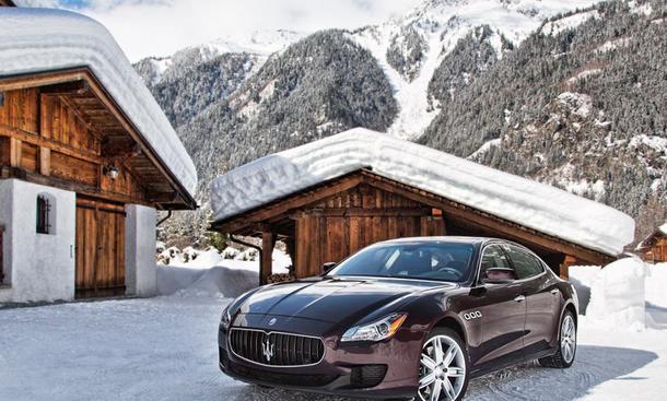Maserati Quattroporte S Q4 2013 Allradantrieb Preis V6 Luxus-Limousine
