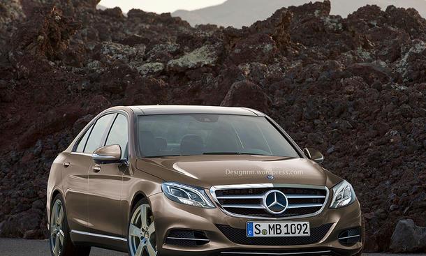 Mercedes C Klasse 2014 W205 Design Rendering