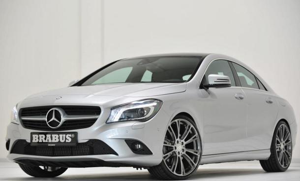 Brabus Tuning Mercedes CLA Leistungssteigerung