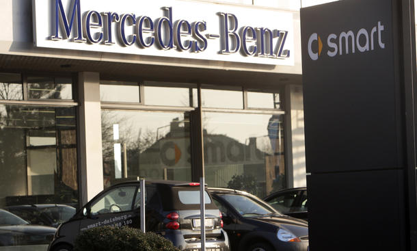 Daimler Mercedes Niederlassungen 2013 Händler Netz Reduzierung