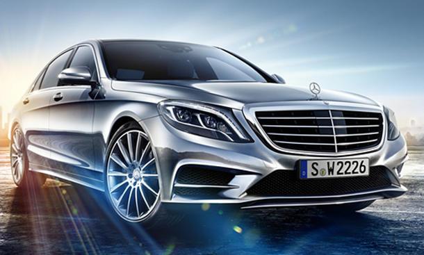 Mercedes S-Klasse 2013 W222 Bilder Luxus-Limousine AMG-Paket