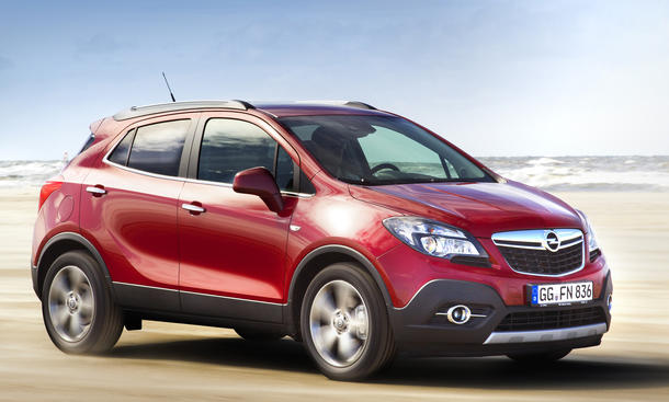 Pkw Neuzulassungen KBA Segmente April 2013 Opel Mokka KBA